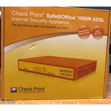 Firewall checkpoint safeoffice 1000N