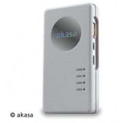 AKASA AK-HC-01WHEUMulti card reader and USB hub